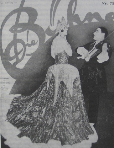 Hubert Marischka and Betty Fischer, the two stars of the 1926 world premiere.