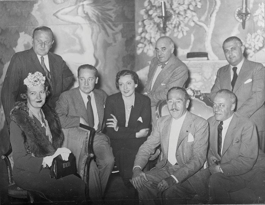 "The creative team of ""Axel"" in 1935."