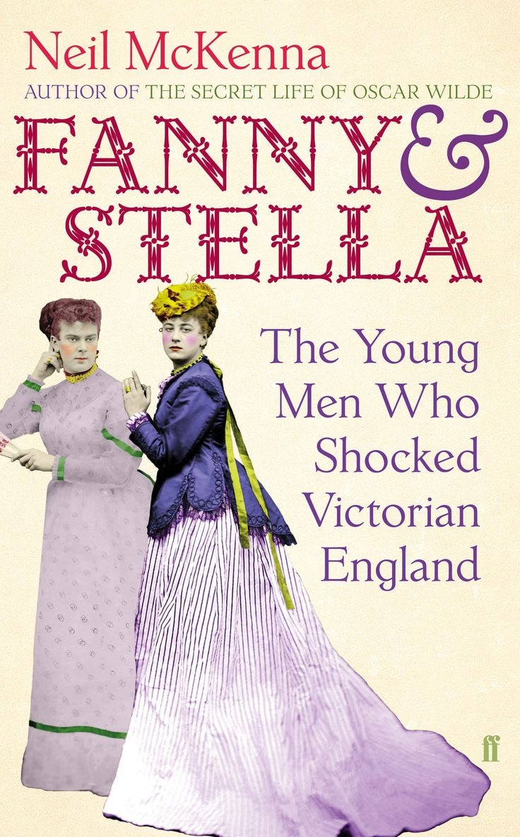 "The cover of Neil McKenna's ""Fanny & Stella."""