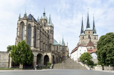The Dom in Erfurt.