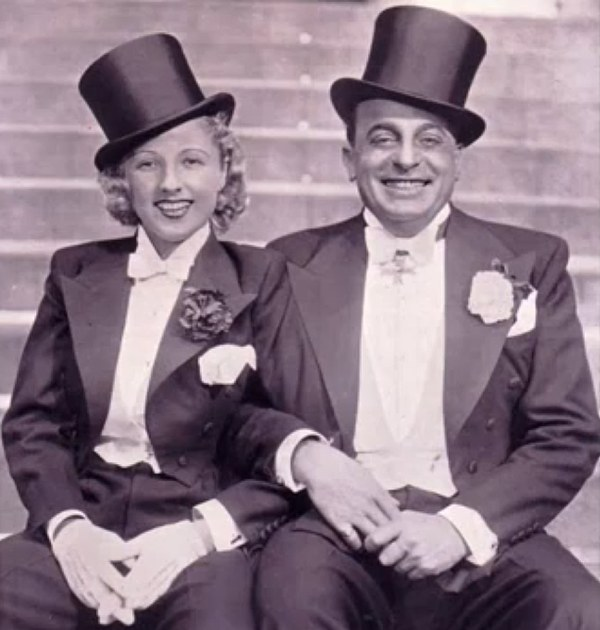 Rosy Barsony and her husband Oscar Denes, the two stars of the original 1932 production.