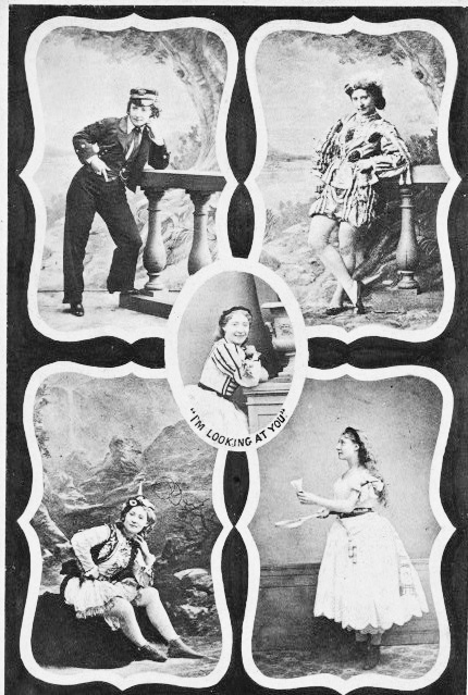 Lydia Thompson in a variety of different roles.