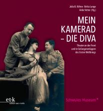 "Cover of the book ""Mein Kamerad - die Diva"", published by edition text + kritik."