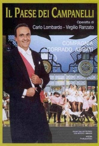 "DVD cover for ""Il Paese dei CampanellI,"" performed by the Corrado Abbati Company."