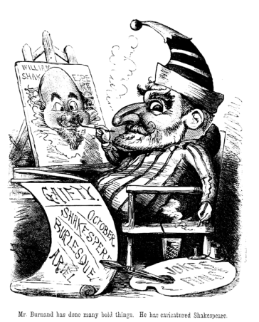 F. C. Burnand as Mr Punch.