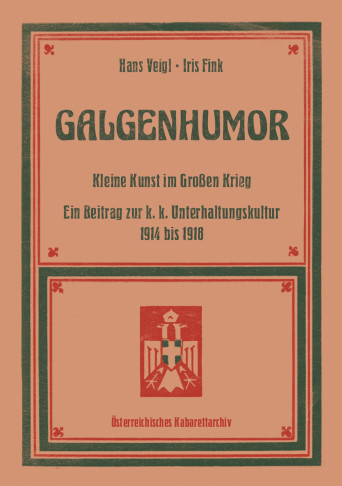 "The cover of the new book ""Galgenhumor""."