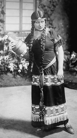 Soprano Mary Garden as the heroine Natoma, in the first production of Victor Herbert's opera.