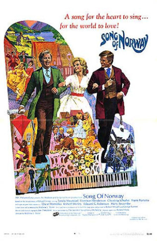 "The 1970 theatrical poster of the ""Song of Norway"" movie version. (Photo: Wikipedia)"