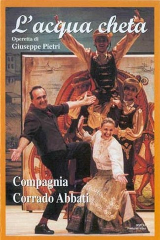 "DVD cover for ""L'acqua cheta."""