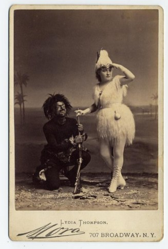 Lydia Thompson as Offenbach's Robinson Crusoe-