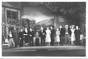 "Granichstaedten's last operetta, ""Sonili,"" performed in Luxemburg in 1939. (Photo: Archive Ernst Kaufmann.)"
