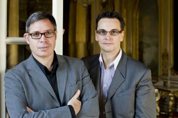 The team of Barbe & Doucet. (Photo: Alexander Kenney/Hamburgische Staatsoper)