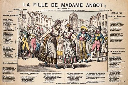 """What A Voyage! Historic """"La Fille de Madame Angot"""" Recordings In English, French & Italian"""