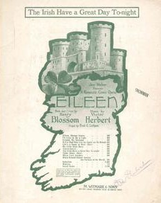 "Poster for the original Broadway ""Eileen."""