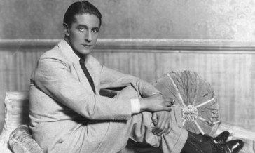 Ivor Novello: the image the BBC chose to advertise their concert.