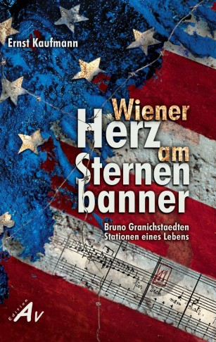 "The cover of the book ""Wiener Herz am Aternenbanner."""