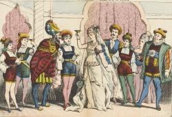 "A scene from ""Giroflé-Girofla."""