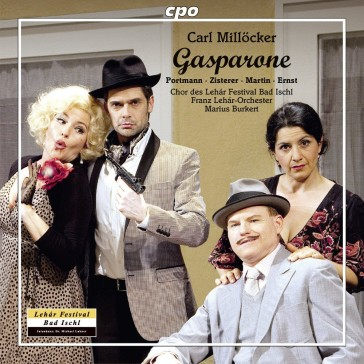 """The new """"Gasparone"""" double-CD from Ischl."""