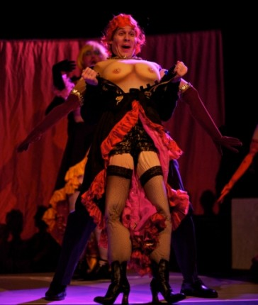 "Scene from Opera della Luna's ""The Merry Widow."""