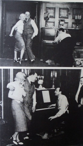 Arbaham rehearsing with Rózsi Bársony & Oszkár Dénes in Berlin, pre-1933.