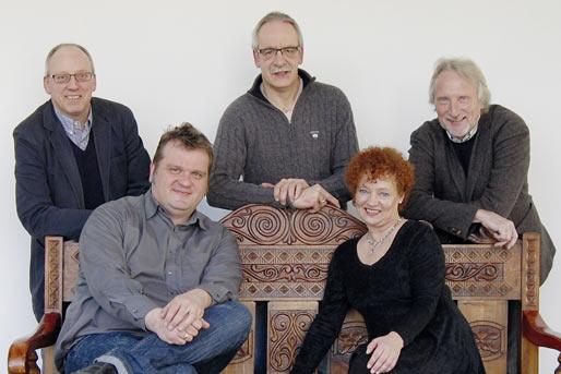 The cpo team: Burkhard Schmilgun (top left), Michael Rickert, Gerhard Georg Ortmann, Lothar Bruweleit, Caroline Ranke (Photo: cpo)