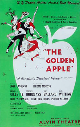 Poster for the original New York production.