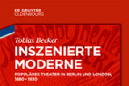 """Inszenierte Moderne"": A New Study About Operetta, Musical Comedy And Revue"