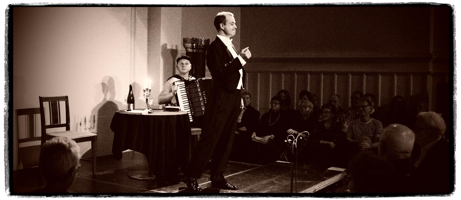 Mads Elung-Jensen & Dirk Rave (Photo: Sebastian Eskildsen)