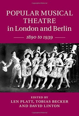 "Cambridge University Press's ""Popular Musical Theatre"" book."
