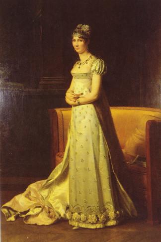 Painting of Stéphanie de Beauharnais by François Pascal Simon, Baron Gérard (1806).