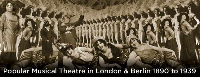 Musical Theatre in London and Berlin.