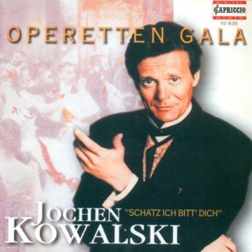 Jochen Kowalski's unusual operetta CD in Capriccio.