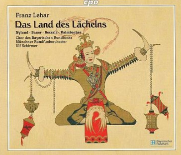 "The cover of the Munich ""Land des Lächelns"" on CPO."