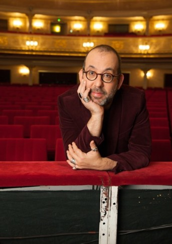 The host: Komische Oper intendant Barrie Kosky. (Photo: Gunnar Geller)