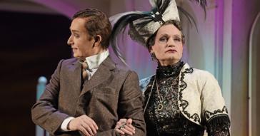 "The two Geschwister Pfister in ""Gräfin Mariza"". (Photo: Theater Sr. Gallen)"