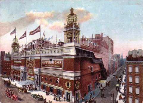 The Hippodrome in New York in 1907. (Photo: Wikipedia)