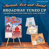"Cover of the Operetta Archives disc ""Broadway Tuned Up."""