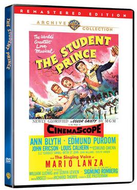 "The 1954 movie version of ""The Student Prince."""