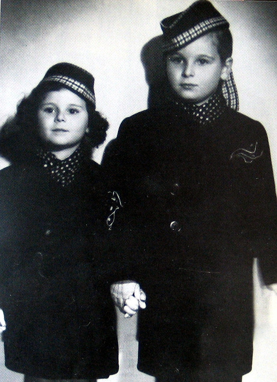 Charles Kalman and his sister Elisabeth, as children in Vienna.