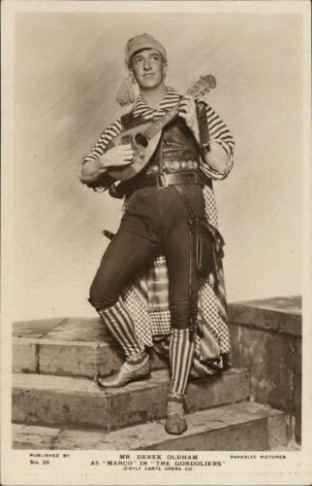 "Derek Oldhamas Marco in ""The Gondoliers."" (Photo: Wikipedia)"