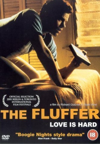 "The cover of the DVD ""The Fluffer,"" a film by Wash Westmoreland."
