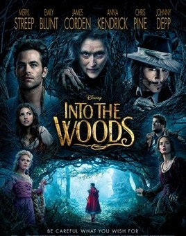 "Poster for the film version of ""Into the Woods,"" 2014."
