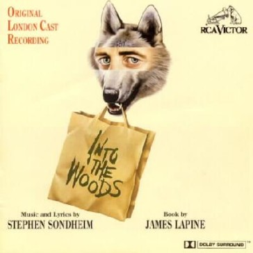 CD cover of the London cast recording, 1990.