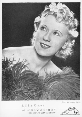 Soprano Lillie Claus, the original Clivia in 1933.