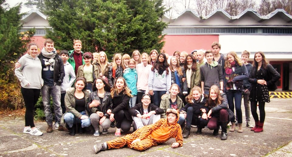 """The group went to Wehrbellinsee to polish up their act; it's the former trainings camp of the """"Young Pioniers"""" of East Germany. (Photo: Private)"""