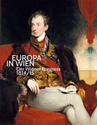 "Cover of the catalogue ""Europa in Wien"" that accompanies the exhibition at the Belvedere."