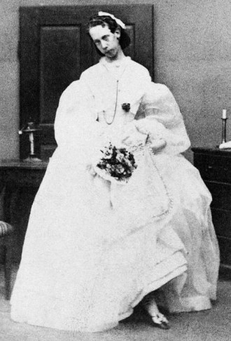 Viktor Ludwig in female outfit.