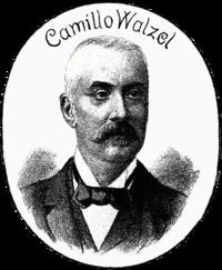 Librettist Camillo Walzel.