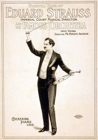 Composer Eduard Strauss.