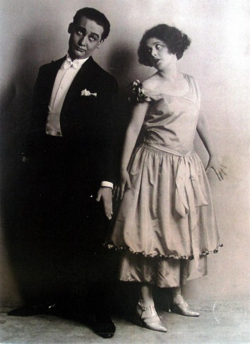 "Max Hansen and Elsie Altman, in the original 1924 production of ""Gräfin Mariza."" (Photo: ORCA)"